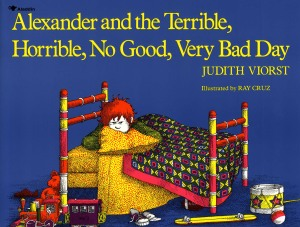 Book cover from Alexander and the Terrible, Horrible, No Good, Very Bad Day by Judith Viorst