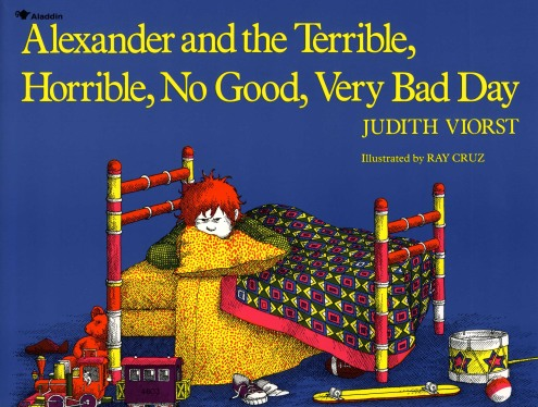 Image result for alexander and the terrible horrible no good very bad day